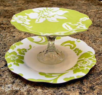 Make A Tiered Serving Tray