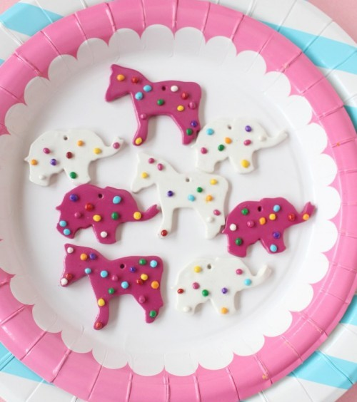 Animal Cookie Necklaces