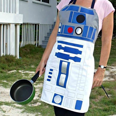 Free Star Wars R2D2 Apron Pattern