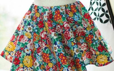 Girl's Circle Skirt Pattern – FREE!