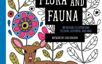 Flora And Fauna Coloring Book