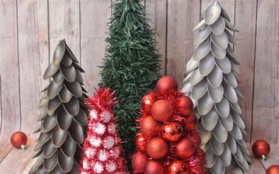 Christmas Tree From Plastic Spoons
