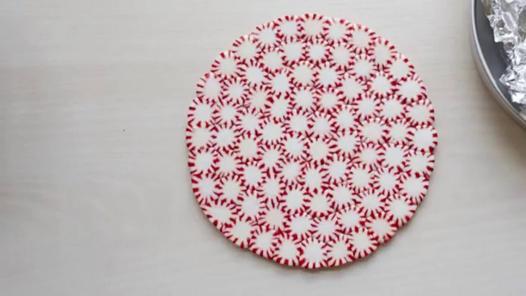 Peppermint Plate Decoration