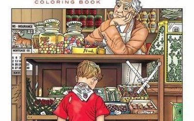 Americana Coloring Books