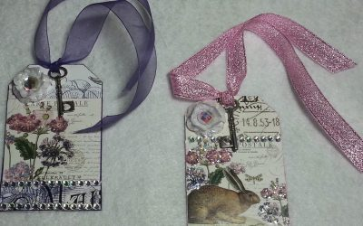 DIY Gift Tags From Calendars