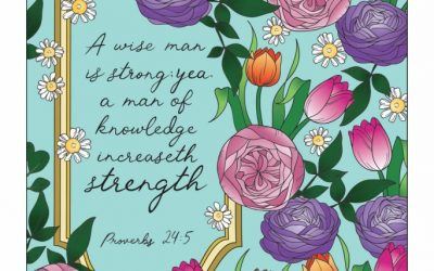 Inspiring Proverbs Coloring Book Review