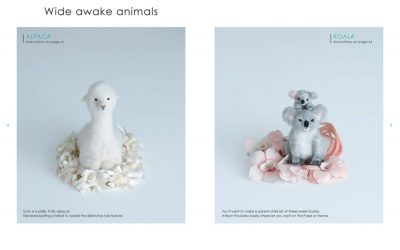Lovable Felted Animals Review
