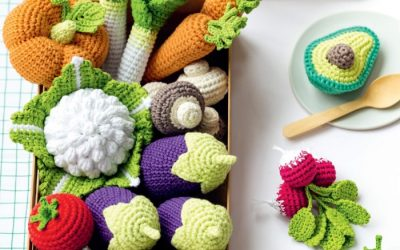 Adorable Fruits & Vegetables To Crochet Review