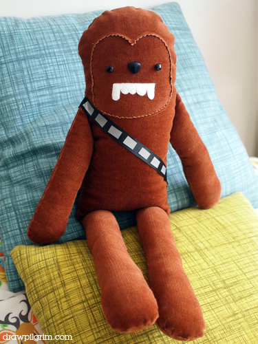 DIY Chewbacca Doll