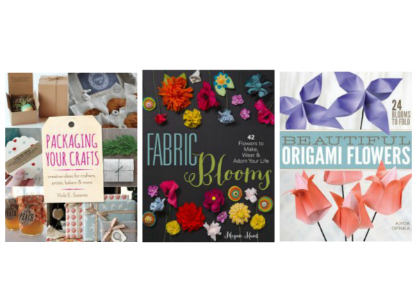 Pretty Flowers & Packaging Books