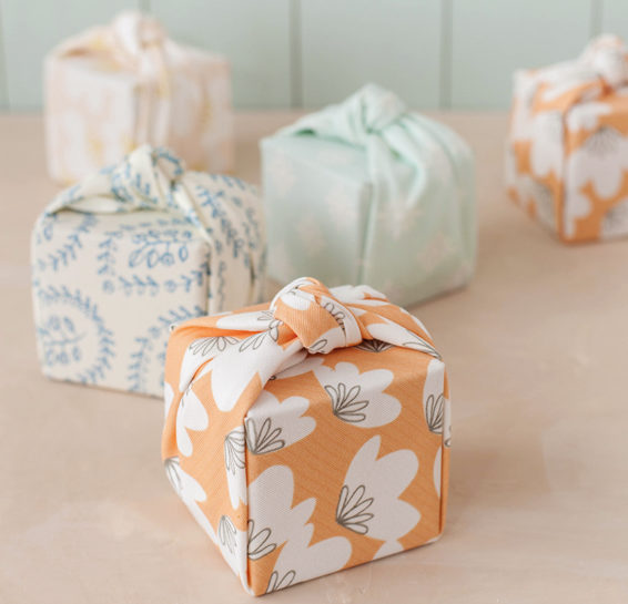 Fabric Wrapped Gift Boxes