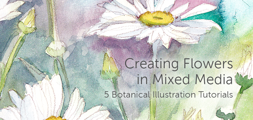Free Flower Painting Tutorial