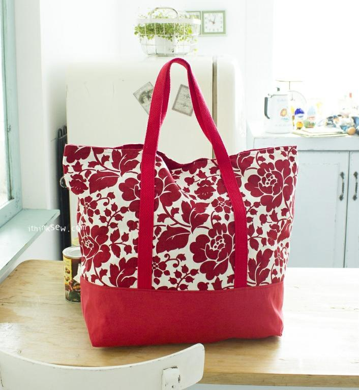 Free Market Bag PDF Pattern