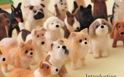 Little Felted Dogs