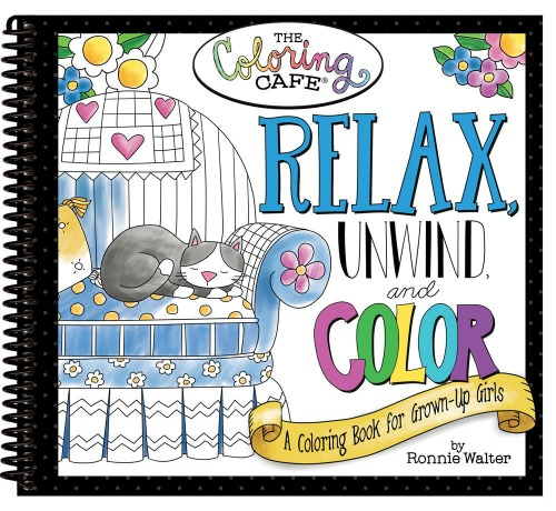 Coloring Cafe Books