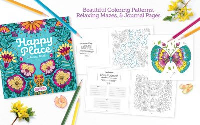 Happy Place Coloring Book Review