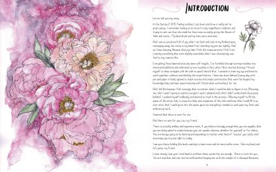 Illustration Studio: Inking Florals Review
