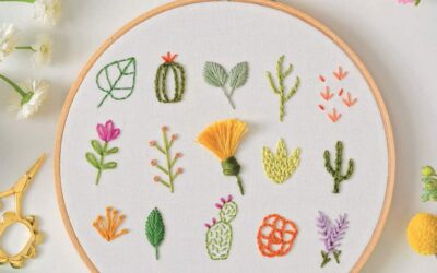 Freshly Stitched: Modern Embroidery Book Review